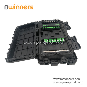 24 Port Dual Inline Fiber Optic Splice Closure