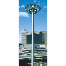 Galvanized Outdoor High Mast Steel Light Poles