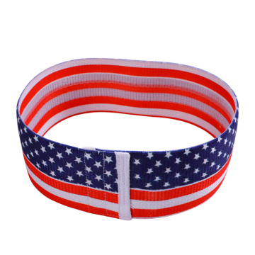 Fabric Cotton Star Pattern Hip Circle Fitness Band