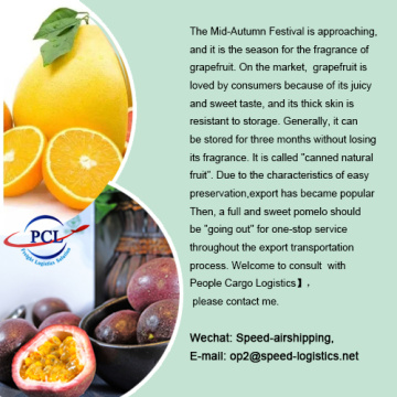 best price for grapefruit air transport to Asia