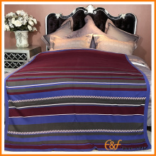 Colorful Stripe Knitted Blanket Cover