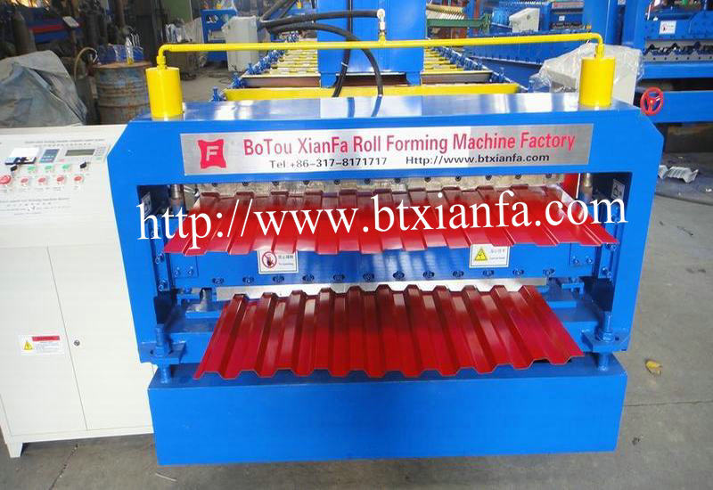 cold roll forming machine for steel roof