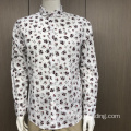 Male TC long sleeve print shirt