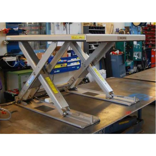 Lift table low profile