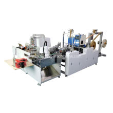 Automatic Handle pasting machine for paper bags