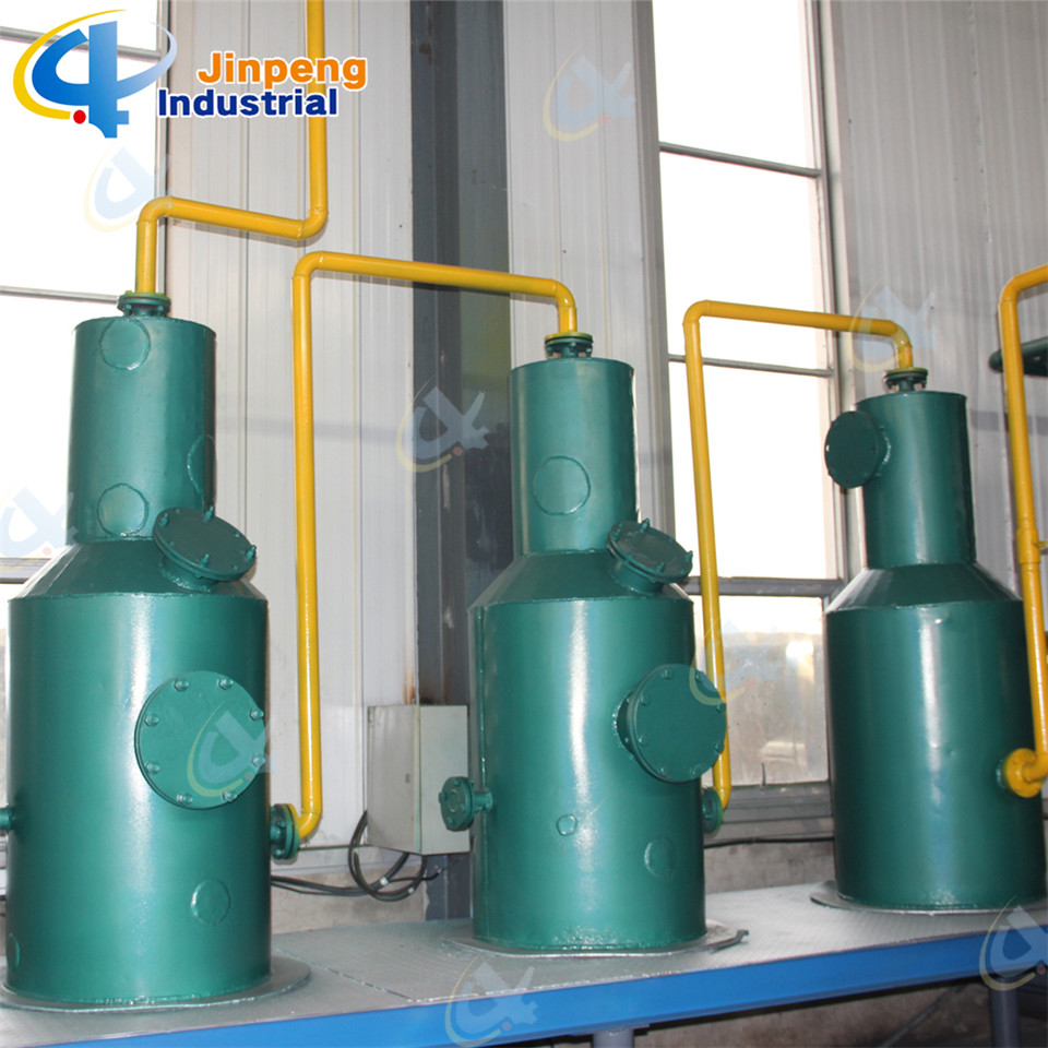 Rubber Recycling Machine Gas or Oil Heating System