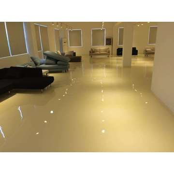 Office solvent-free epoxy self-flowing flat paint