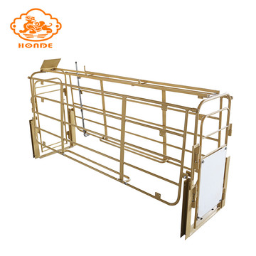 Durable solid high quality farrowing crate