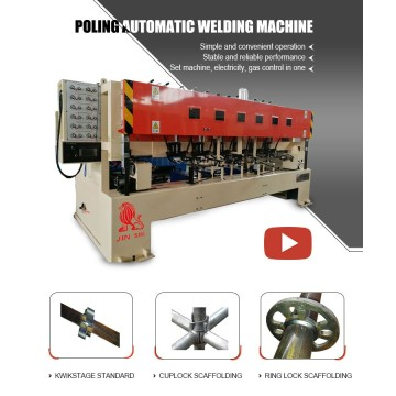 Scaffolding Machinery Ringlock Welding Machine