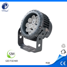 Outdoor landscape projector 12W led projector luminaires