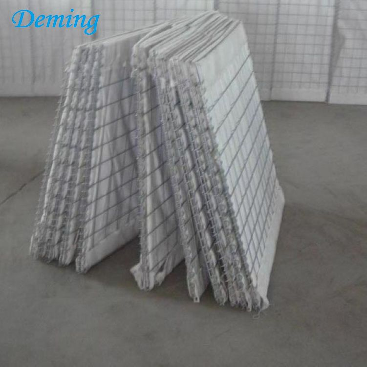 Military Sand Wall Hesco Barrier/Defensive Flood Sandbags Gabion Walls for sale