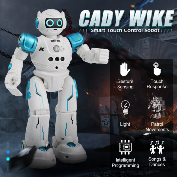 JJRC R11 RC Robot Toy Singing Dancing Talking Smart Robot For Kid Educational Toy For Children Humanoid Sense Inductive RC Robot
