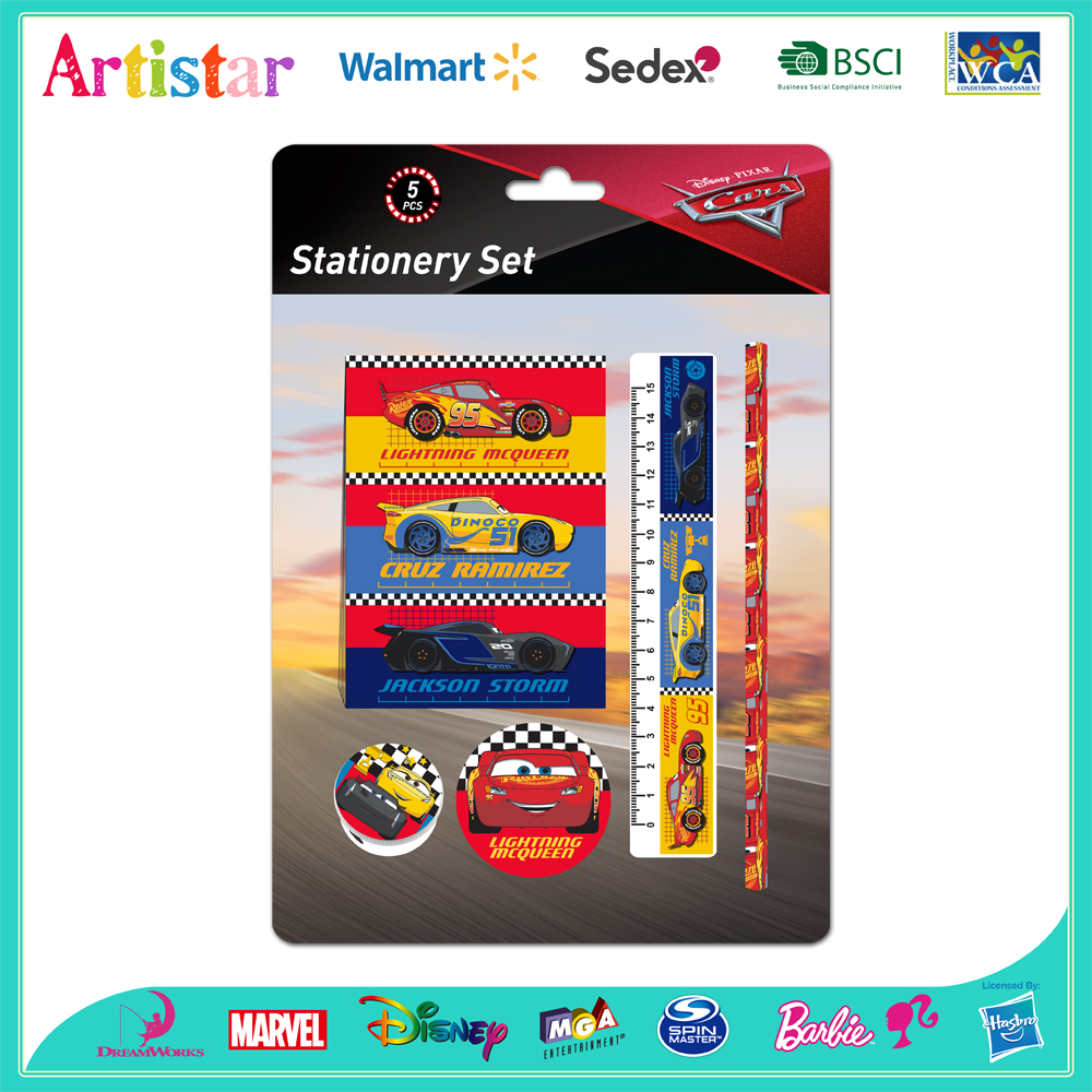 Disney Cars stationery set