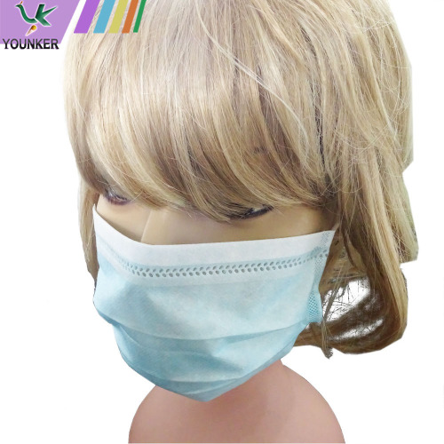 Disposable 3ply PP Dusty Protective Face Mask
