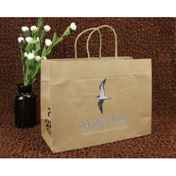 Paper Bags Printing Logo Customised Handle packing shopping