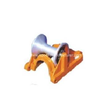 Cable Ground Roller Cast Aluminum Support