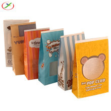 Takeaway Square Bottom popcorn paper bag
