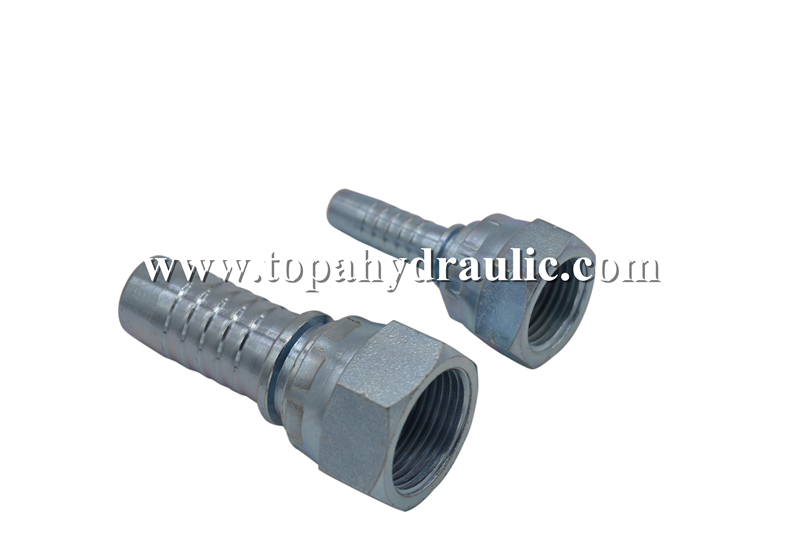 22611 08 06 22611 12 12 Hex Hydraulic Fitting Adapter