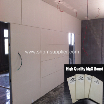 High Quality Fireproofing 10mm Mangnesium Oxide Board