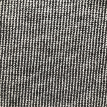 knitted fleece brushed polyester jacquard fabric for coat