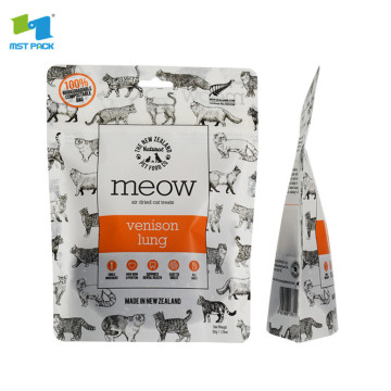Bio stand up petfood packaging biodegradable pouches
