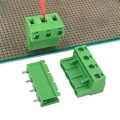 7.62MM straight pin male and female terminal block