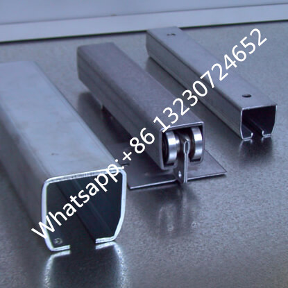 sliding door rail track machine