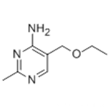 5-ethoxymethyl-2-methylpyrimidin-4-ylamine CAS 73-66-5