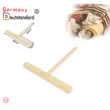 Wooden Crepe and Pancake Batter Spreader