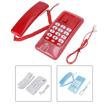 telefon Mini Telephone Wall Mount Landline Telephone Extension No Caller ID Home Phone For Hotel Office Family home phone