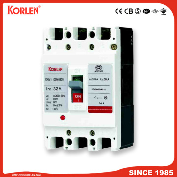 Moulded Case Circuit Breaker MCCB KNM1 CB 63A