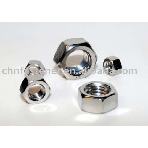 DIN431 Pipe Nuts With Thread