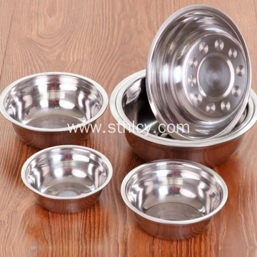 Thick Stainless Steel Deep Soup Basin