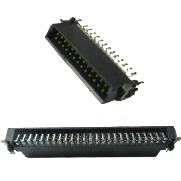 1.27 SMC Male Connector Right Angle SMT Type