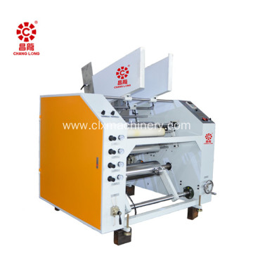 Semi-automatic stretch film  slitter