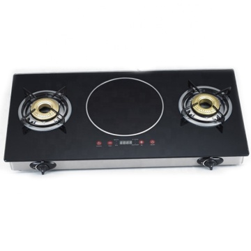 Mixed Table Gas Stove 3 Cooking Zone