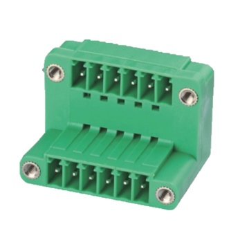 Plug-in Terminal Block  Vertical W/F Pitch:3.5/3.81