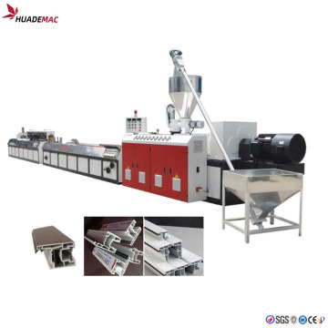 PVC windows doors frame making machine