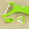 Multifunctional Ceramic ABS Fruit Vegetable Peeler Carrot Potato Peeler Vegetable Skin Zester Peeling Tool Kitchen Accessories