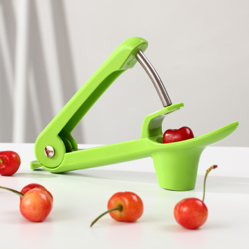Silver Cherry Slotter Kitchen Simple Olive Slotter Fruit Core Seed Remover Gadget Stoner Kitchen Accessories Fruit Tools