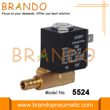 5524 Direct Acting Brass Solenoid Valve For Heating
