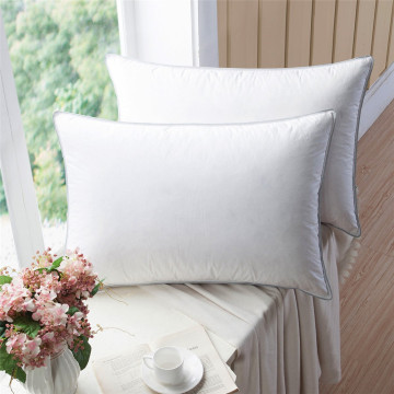 Hotel Collection  100% Cotton Cover  Down Pillow