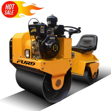 Ride on vibrating road roller compactor roller press machine FYL-850