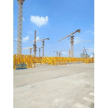 Adjustable mast size of tower crane
