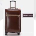 Retro trolley case suitcase office men pu Luggage
