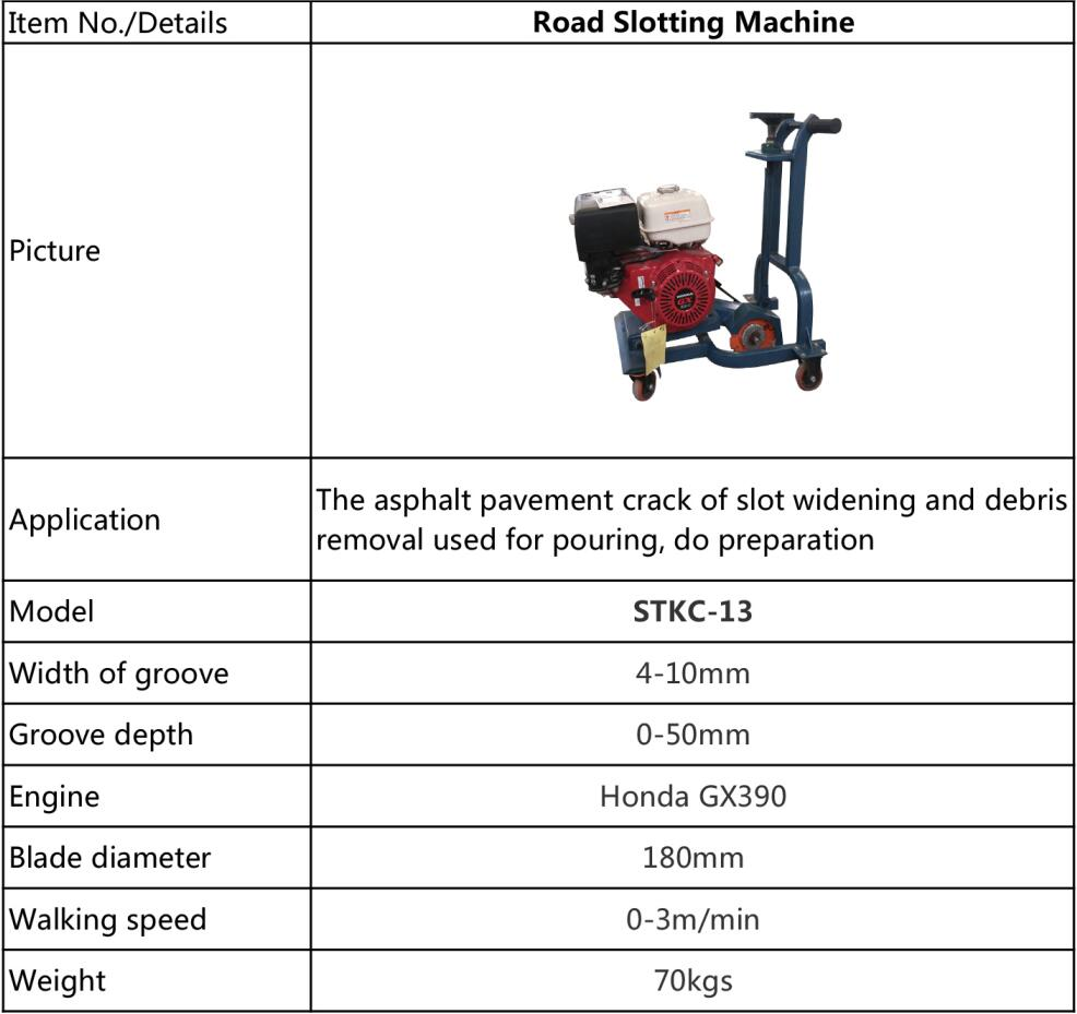 Road slotting machine STKC-13 (2)