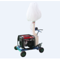 Balloon portable diesel generator tower light