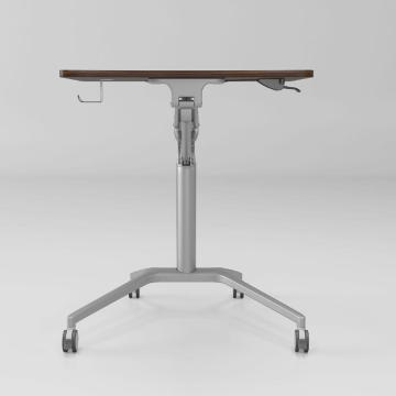 Aluminum structure bed table