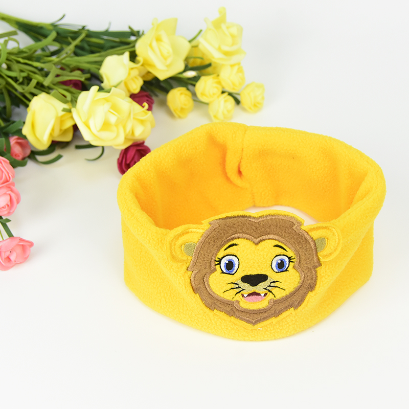 Comfortable Stereo Wired Sleeping Headphones Kids Lion