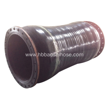 Common Flexible Flanged Sludge Discharge Hose